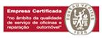 empresa certificada no âmbito de oficinas reparação automovel