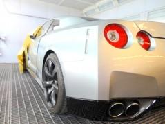 Nissan GTR Pintura